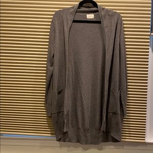 Dreamers Boyfriend Cardigan Grey S/M